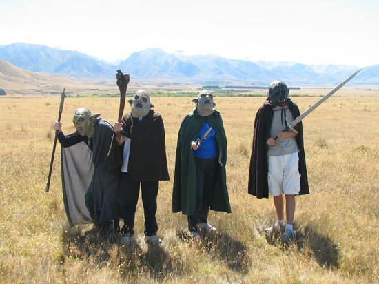 Lord of the Rings Twizel Tour:                   A Family of Orcs