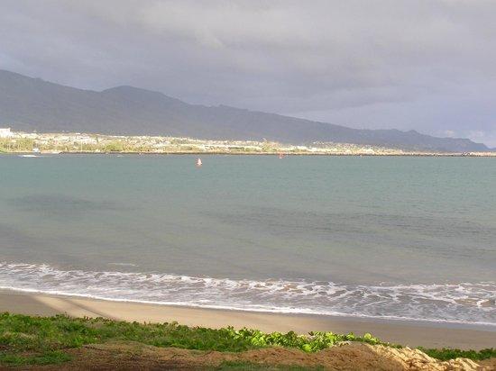 ماوي سيسايد هوتل:                   This is the beach area in the rear of the hotel.                 