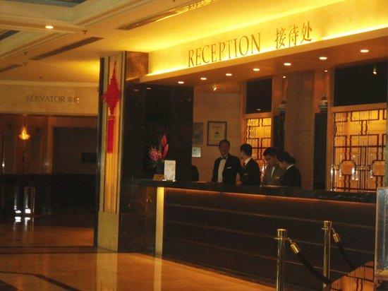 Regal International East Asia Hotel: reception