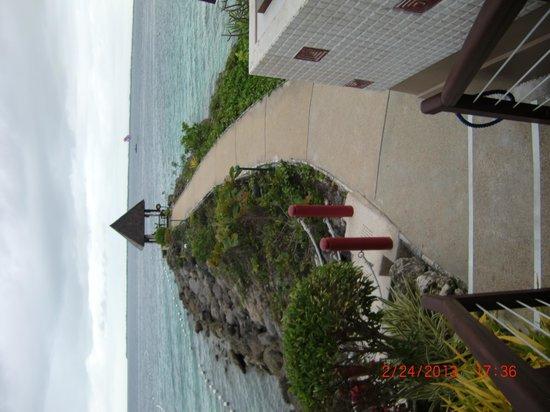 Cowrie Cove at Shangri-La's Mactan Resort & Spa: ocean view