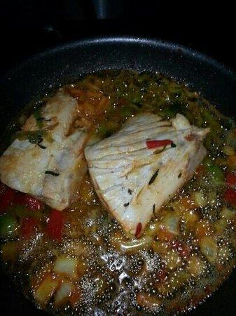 El Bohio:                   filete de chilla ala mantequilla
