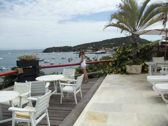 Hotel El Cazar:                                     vista de la terraza