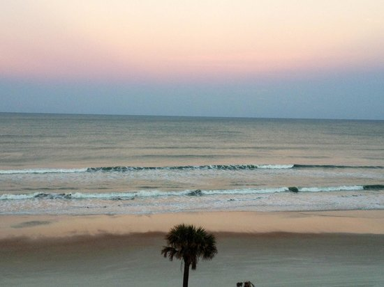 Holiday Inn Hotel & Suites Daytona Beach:                   Sunset on the beach