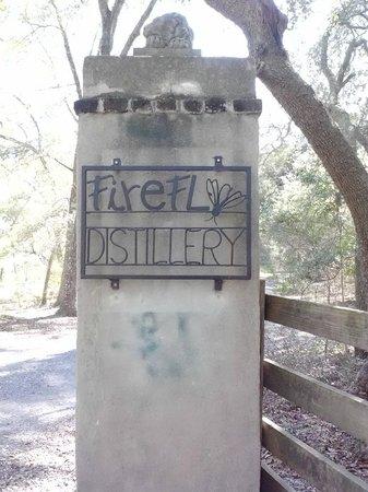 Firefly Distillery:                   Entrance