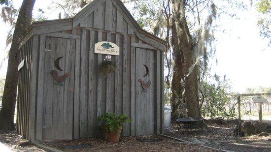 Firefly Distillery :                   restrooms
