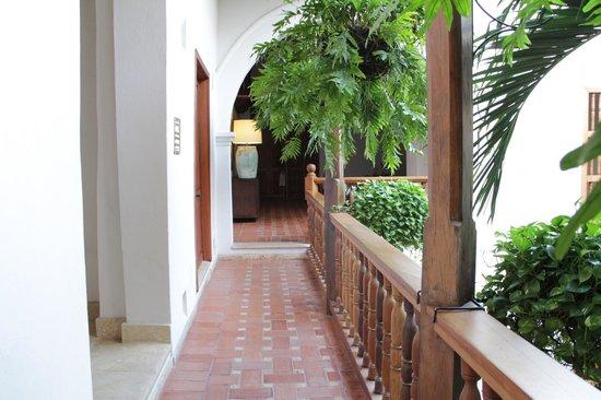 Hotel Casa San Agustin:                   corredor
