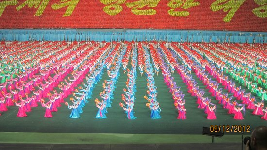 Pyongyang, North Korea:                   Mass games