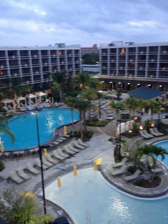 Sheraton Lake Buena Vista Resort:                   6th floor pool view