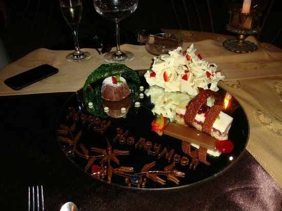 Marquis Los Cabos:                   Private beach dinner surprise dessert