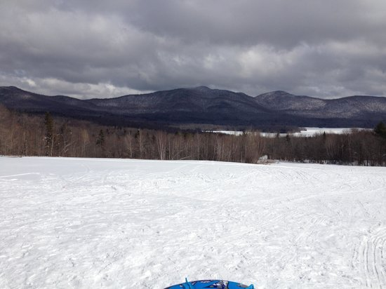 The Mountain Top Inn & Resort:                   Sledding