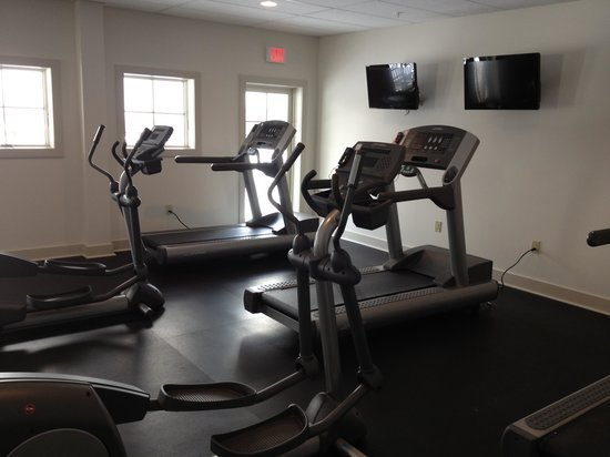 The Mountain Top Inn & Resort:                   Fitness Room