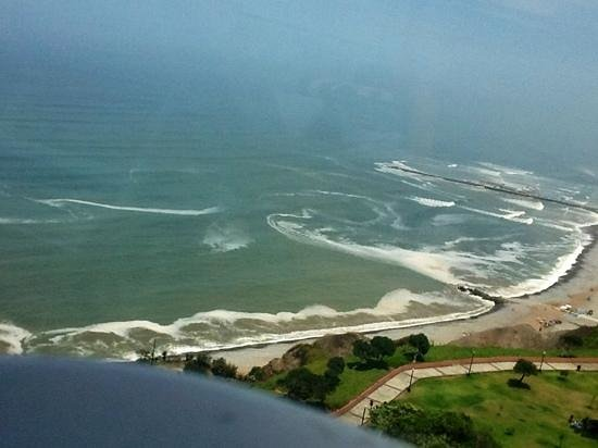 Belmond Miraflores Park: view of the ocean from the room