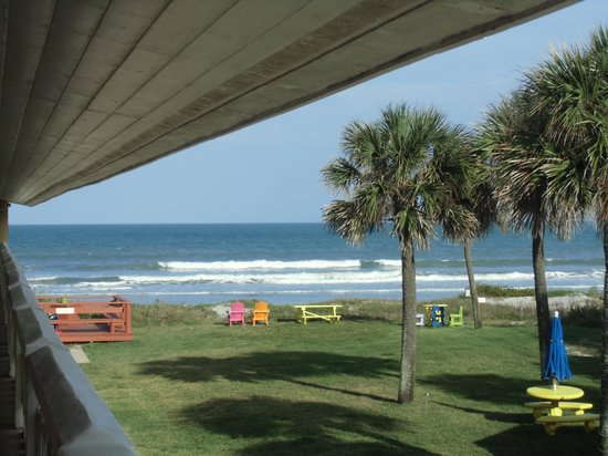 South Beach Inn:                   View from our room                 