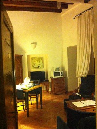 Palazzo Olivia:                   Living room