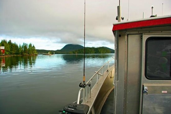 Alaskan Fishing Adventures: calm morning