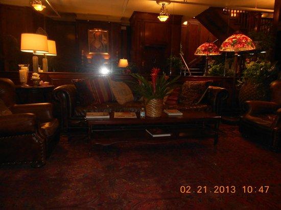 Park Plaza Hotel Winter Park :                   Charming Lobby