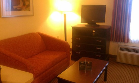 Kannapolis Extended Stay Hotel:                   living room area