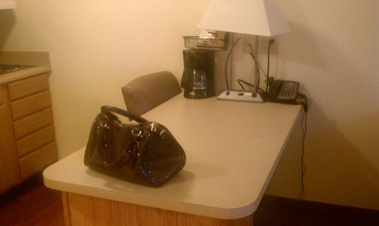 Kannapolis Extended Stay Hotel:                   office area