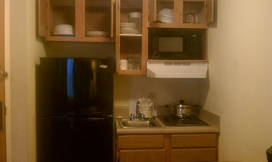 Kannapolis Extended Stay Hotel:                   kitchen area