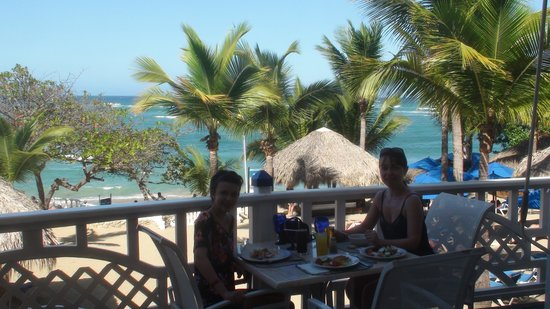 The Tropical at Lifestyle Holidays Vacation Resort:                                                       Beautiful view for a lunch!