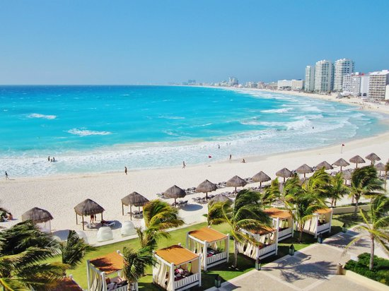 Krystal Grand Punta Cancun:                   view from room! ocean view