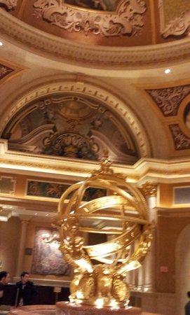 The Venetian Las Vegas:                   hotel deco