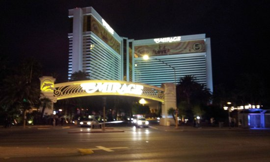 The Venetian Las Vegas:                   view from outside the hotel