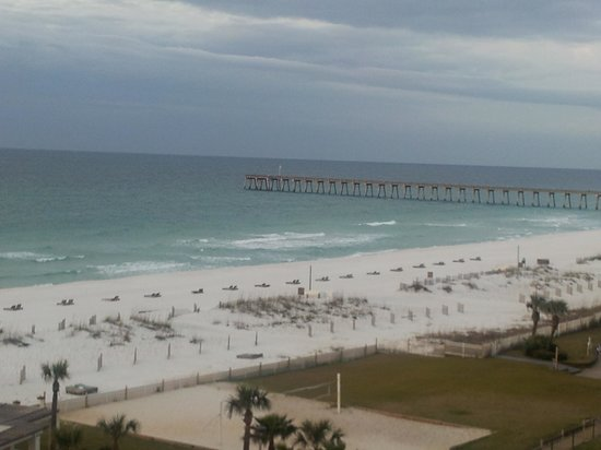 Hilton Pensacola Beach:                   the wonderful view