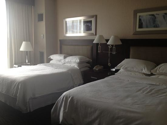 Sheraton Salt Lake City Hotel: comfy beds
