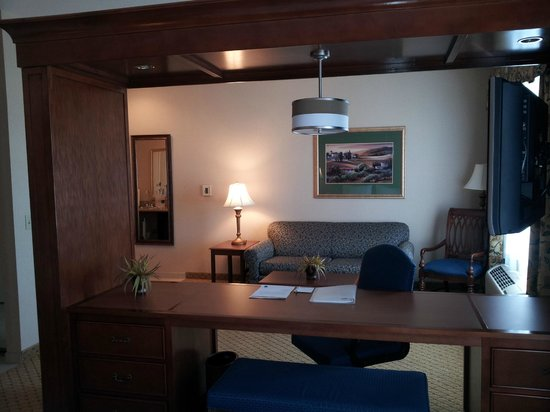 Hampton Inn & Suites Pittsburg: sofa