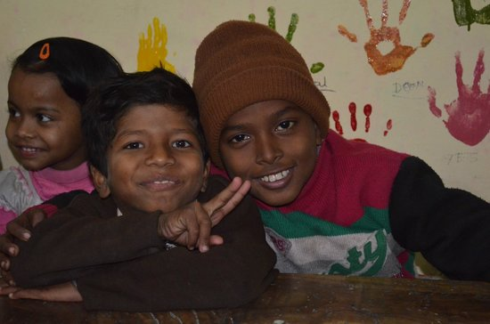 Yoga Education Training Society:                   These children were so full of life and a joy to be around