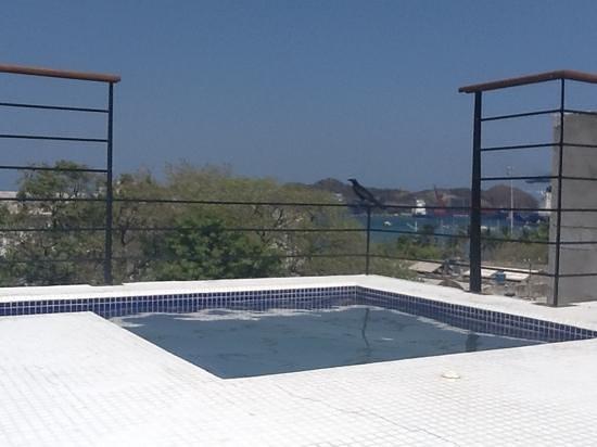 Casa de Isabella - a Kali Hotel:                   le jacuzzi sur le toit