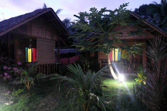 Reggae Guesthouse:                   view of the cottages