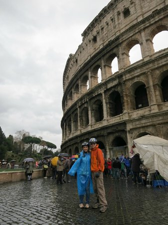 Italy Cruiser Bike Tours - Rome :                   ..