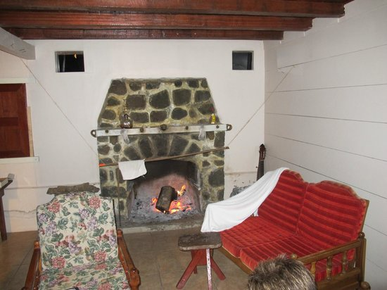 Finca Hartmann : The fireplace is nice in the chilly evenings up there.