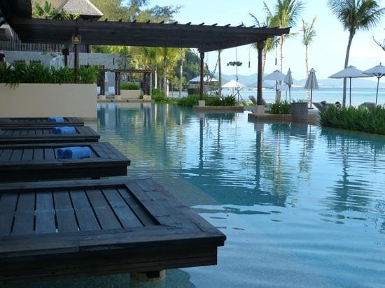 Gaya Island Resort:                                     Loved the pool
