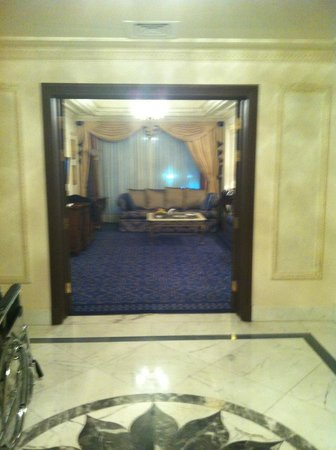 InterContinental Dar Al Tawhid: The corridor