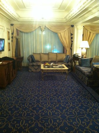 InterContinental Dar Al Tawhid: Sitting area