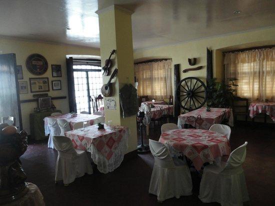 Vigan Heritage Mansion:                   the restaurant