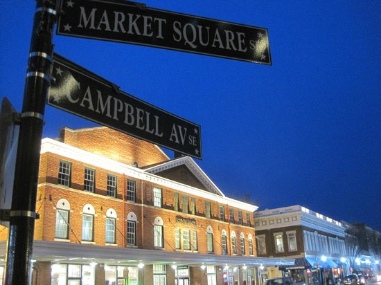 Center in the Square:                   Corner of Market Square and Campbell Ave.
