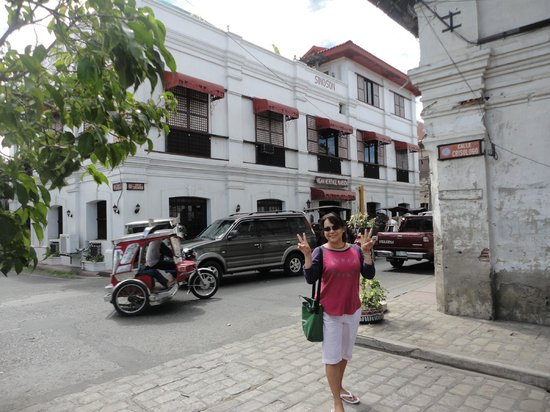 Vigan Heritage Mansion:                   just a corner of liberation blvd and the famous calle crisologo