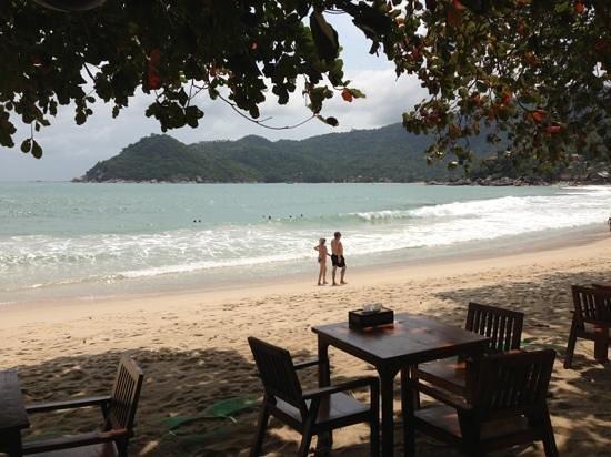 Thongtapan Resort:                   uitzicht vanuit restaurant