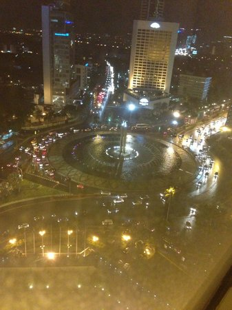 Grand Hyatt Jakarta:                   View from Room