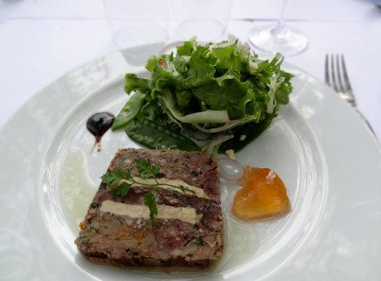 Chez Paul'O: Entrée, avec salade (...)