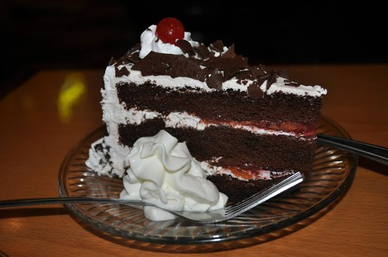 Hallo Berlin - 10th Ave:                   Black Forest Cake with Kirschen