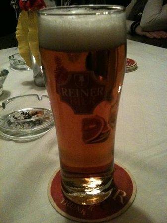 Brauereigasthof Reiner :                   heerlijke bieren!