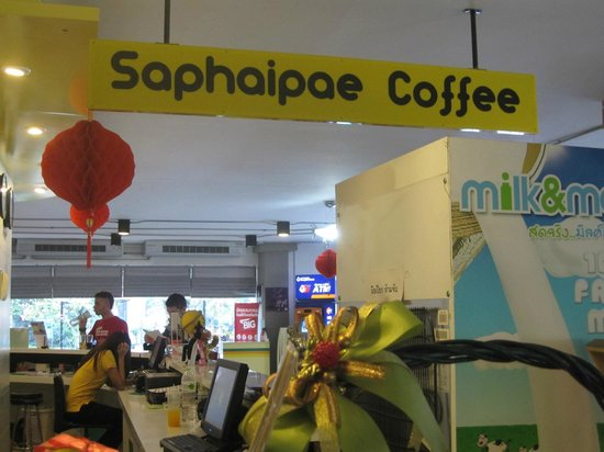Saphaipae Hostel:                   cafe