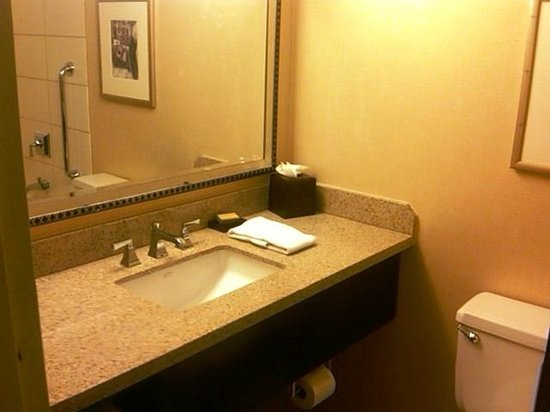 Kansas City Airport Marriott:                   Bathroom