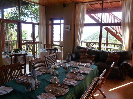Boardwalk Lodge:                   Frühstücksraum