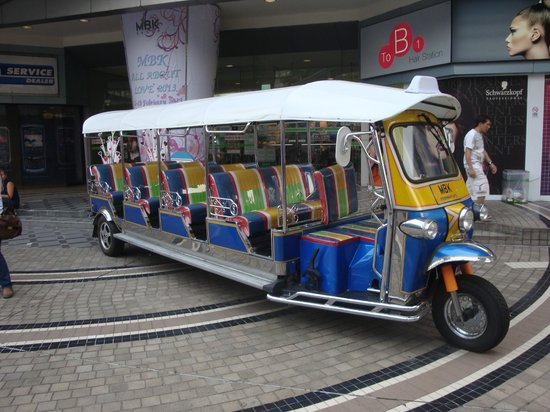 Rembrandt Hotel Bangkok:                   Local transportation